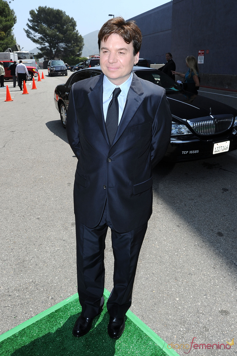 Mike Myers en el estreno de 'Shrek Forever After'