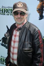 Steven Spielberg en el estreno de 'Shrek Forever After'