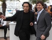 Alejandro Gonzalez Iñarritu y Javier Bardem en Cannes