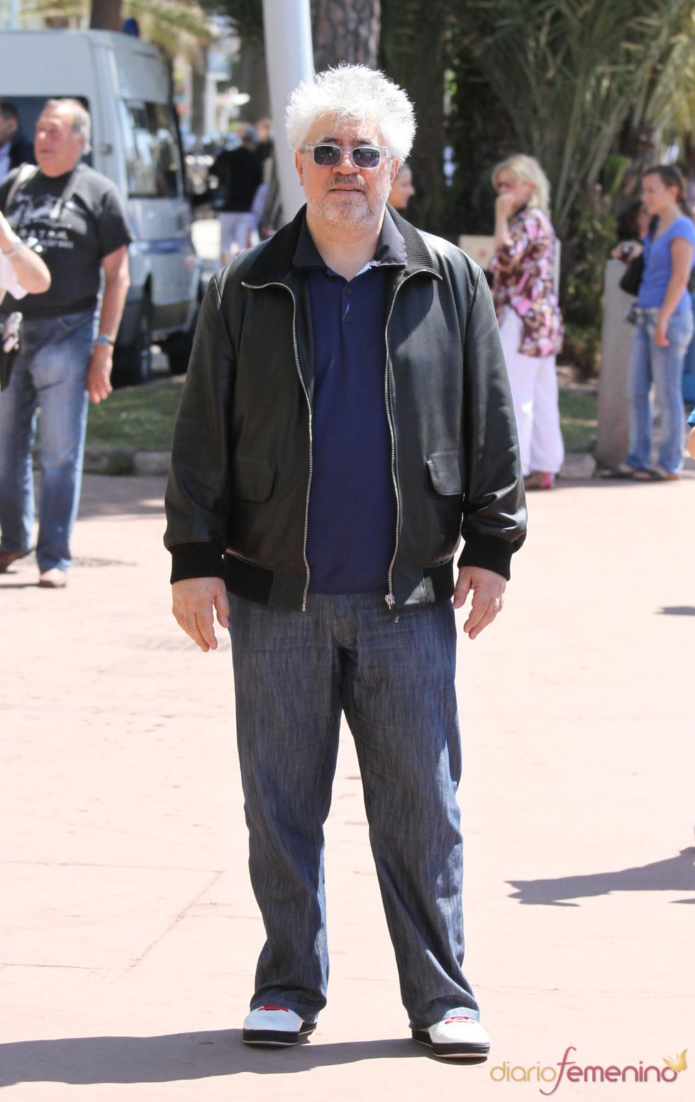 Pedro Almodovar en el Festival de Cine de Cannes