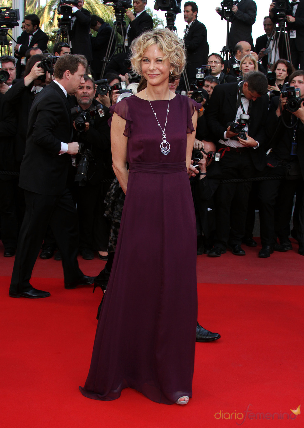 Meg Ryan, de granate en Cannes