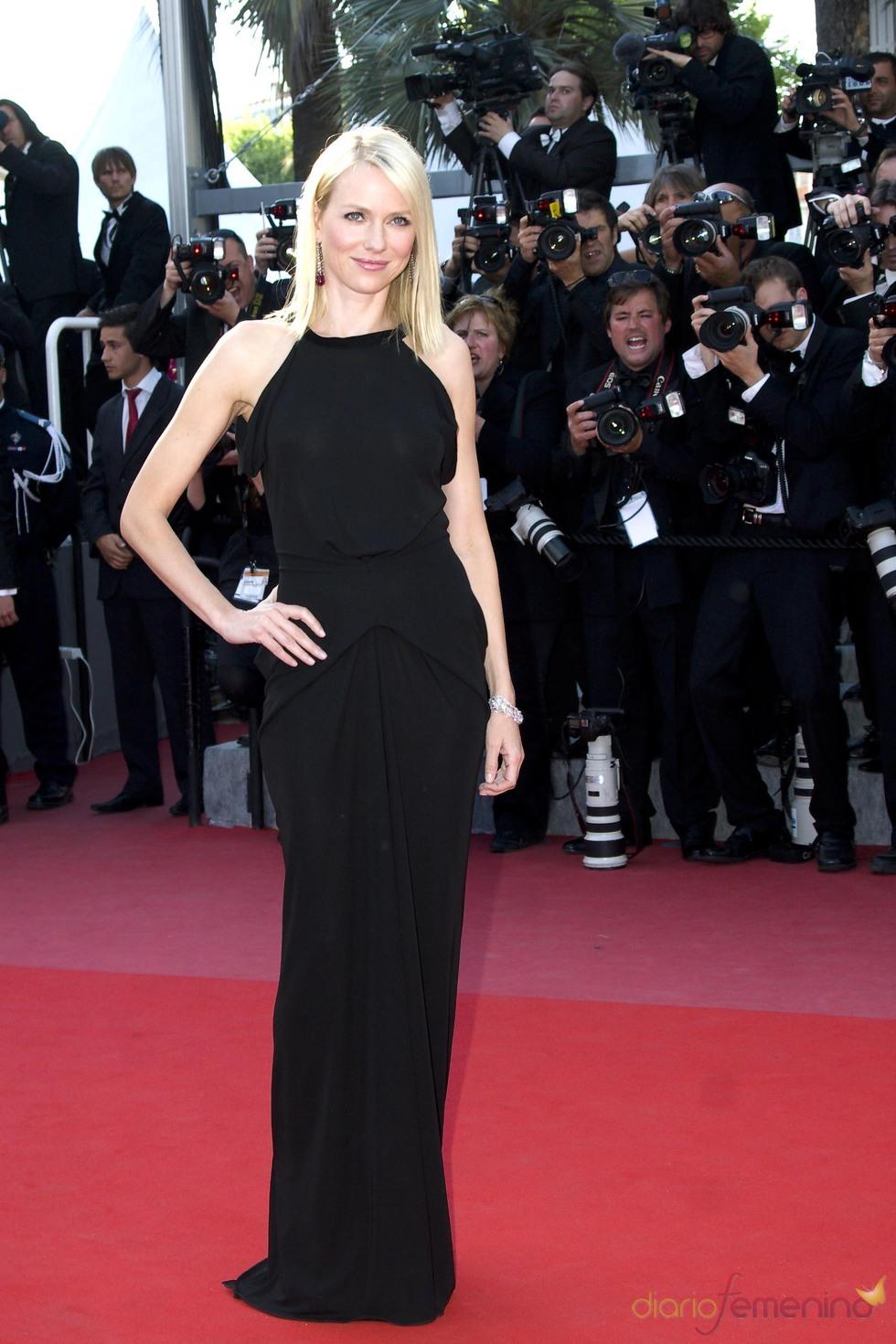 Naomi Watts, radiante en Cannes