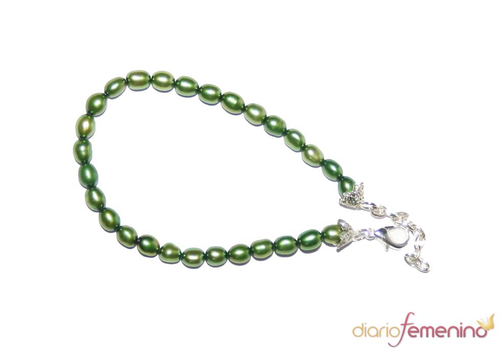 Pulsera verde oliva de Abataba