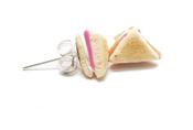 Pendientes sandwich mixto de Abataba