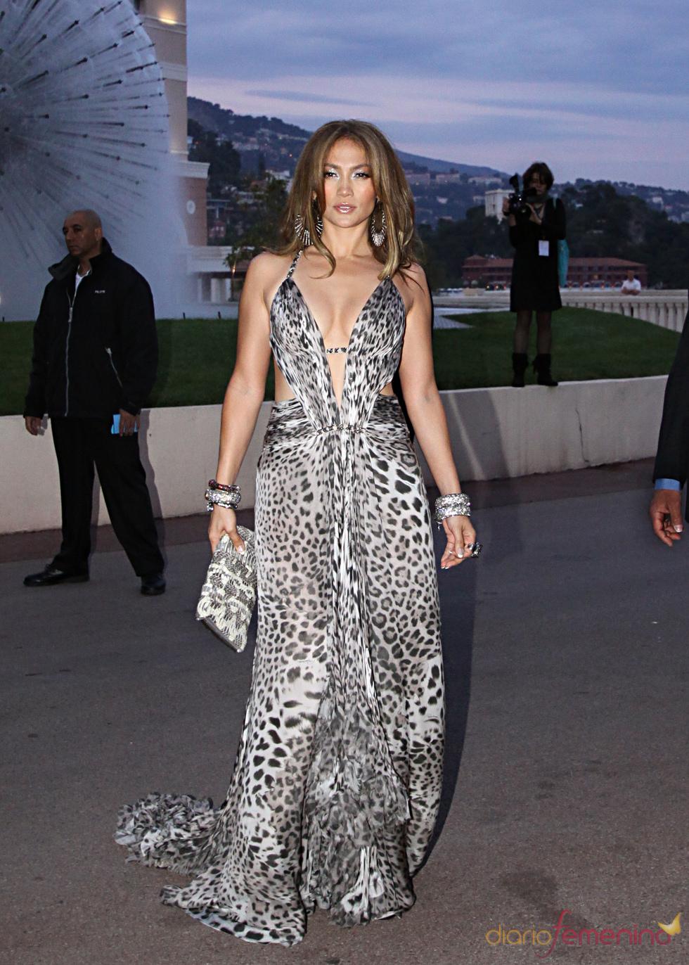 Jennifer Lopez en los Premios de la Música de Montecarlo