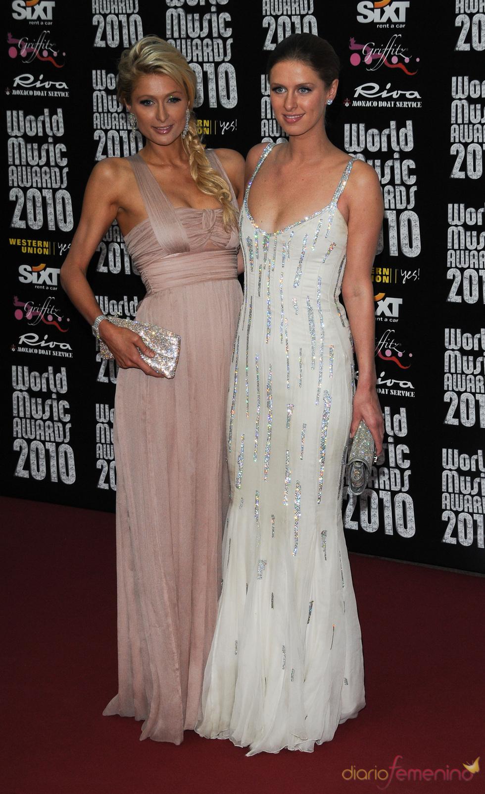 Nicky y Paris Hilton en los Premios de la Música de Montecarlo