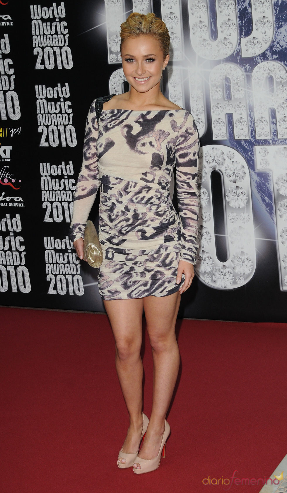 Hayden Panettiere en los Premios de la Música de Montecarlo