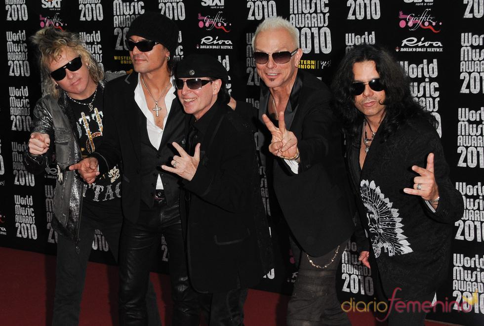 Premios de la Música de Montecarlo: The Scorpions
