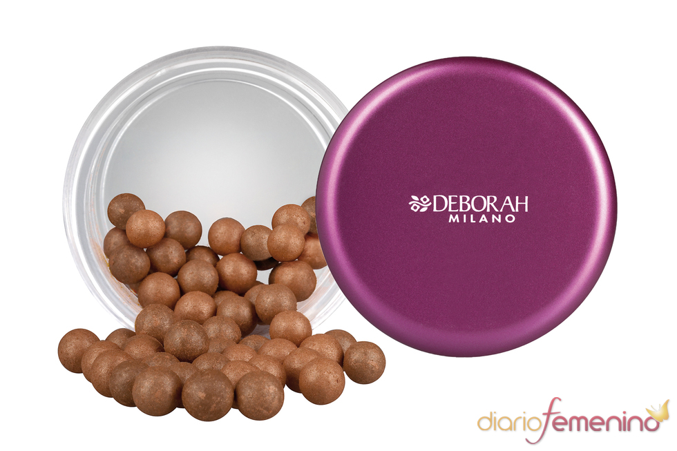 Perlas bronceadoras de Deborah Milano