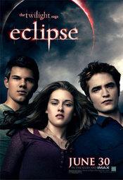 Poster de 'Eclipse' con Edward, Jacob y Bella
