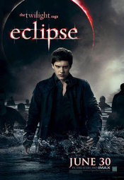 Poster de 'Eclipse' con el vampiro Riley