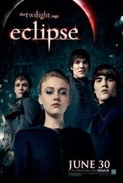 Poster de 'Eclipse' con la vampiresa Jane