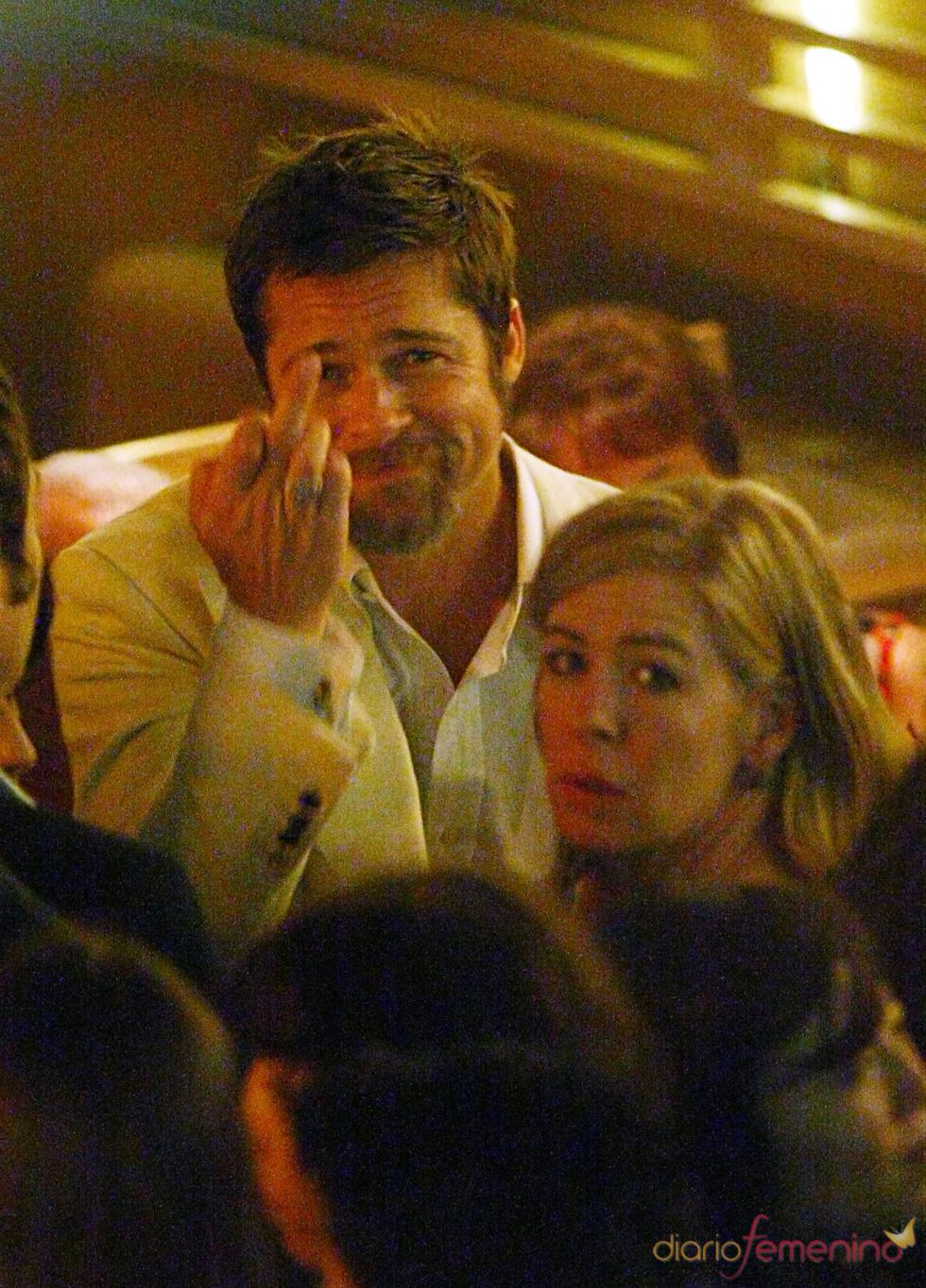 Brad Pitt pierde las formas