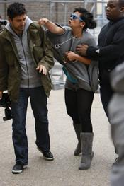 Lily Allen golpea a un fotógrafo