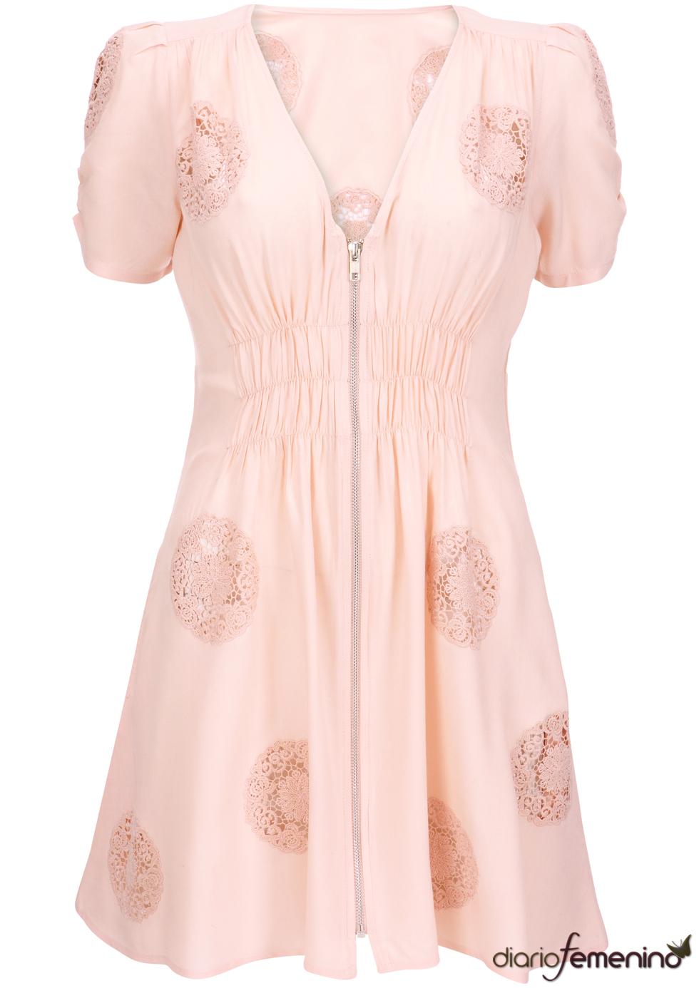 Vestido con aire retro de Kate Moss