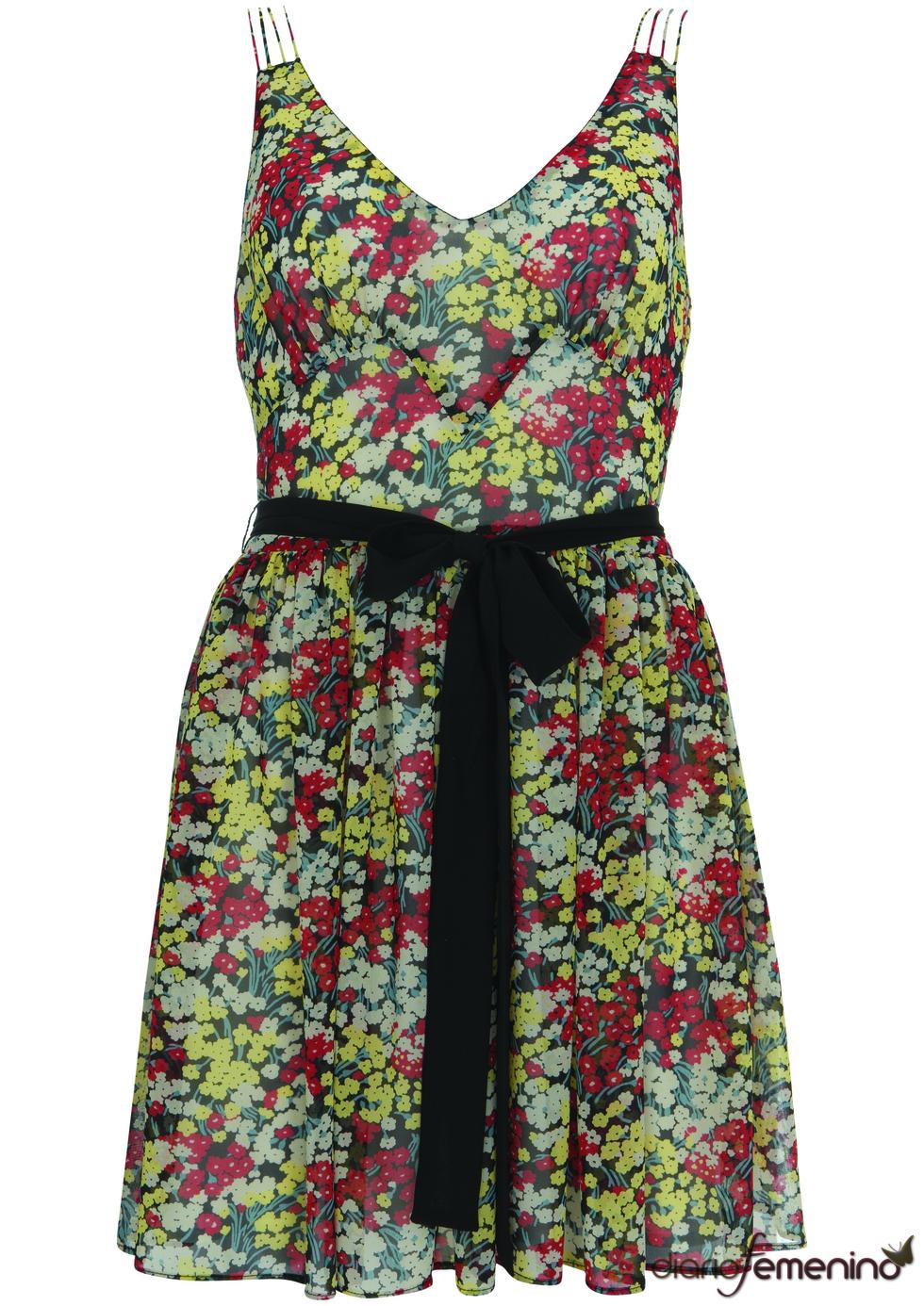 Vestido de flores de Kate Moss