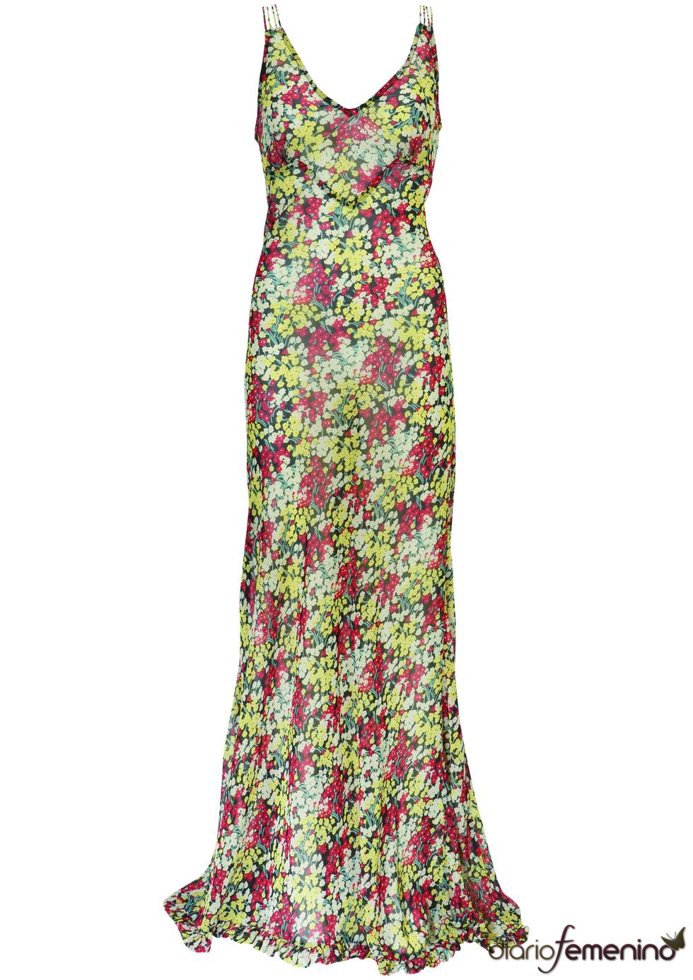 Vestido casual de Kate Moss