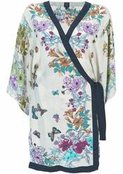 Kimono de flores de Kate Moss