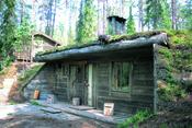 Cabaña rural finlandesa