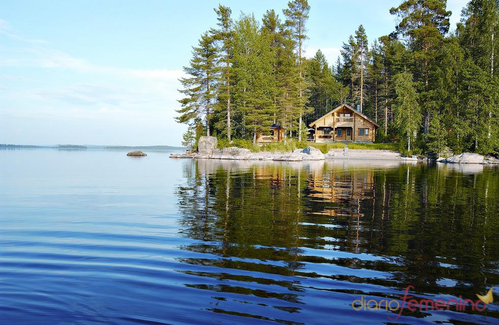Un verano de relax en Finlandia
