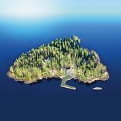 Isla de Aateli en Finlandia