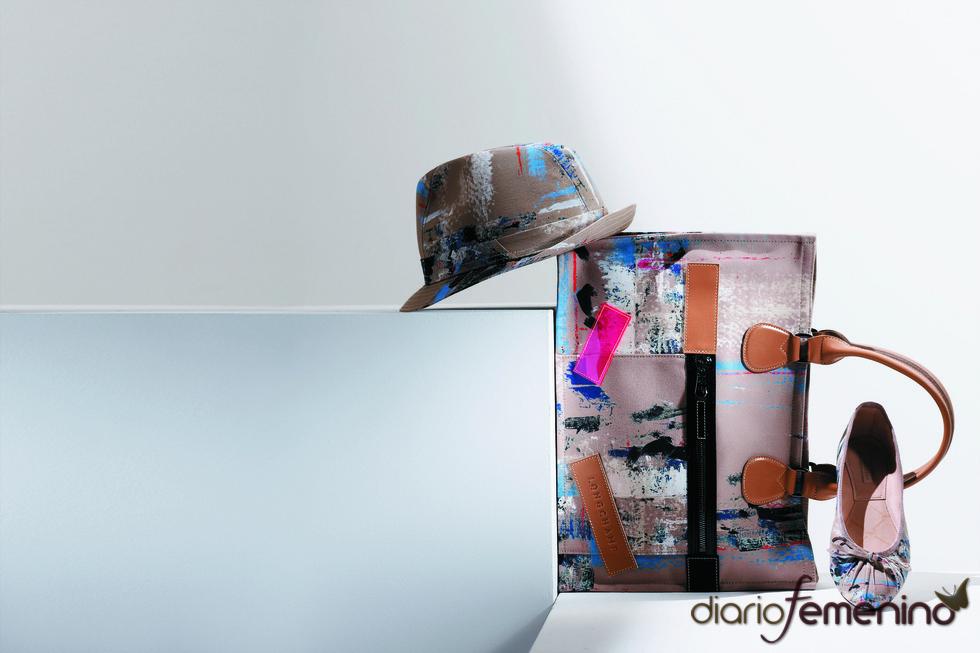 Sombrero, bolso y bailarina de Longchamp
