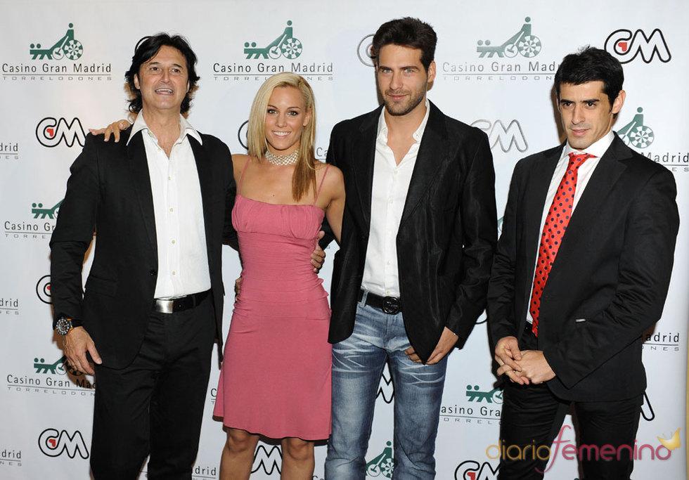 Poty, Edurne, Juan Garcia y Victor Janeiro juntos