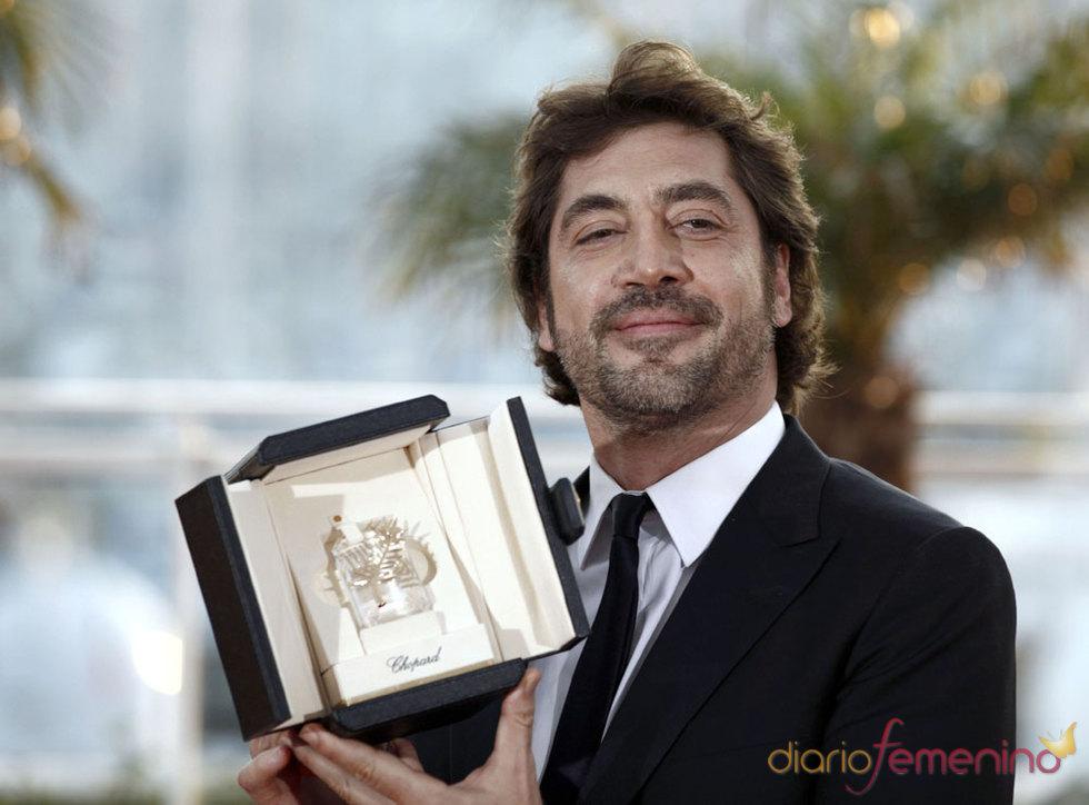 Javier Bardem dedica la Palma de Oro a su novia Penélope Cruz
