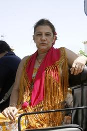 Belén Ordoñez en el Rocío