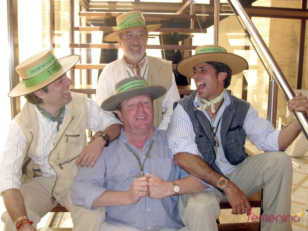Francisco Rivera , muy divertido en el Rocío