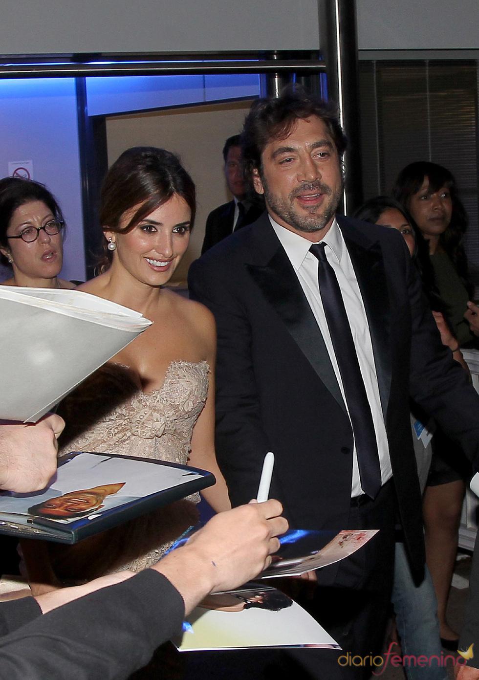 Javier Bardem y Penélope Cruz juntos después de la declaración de amor