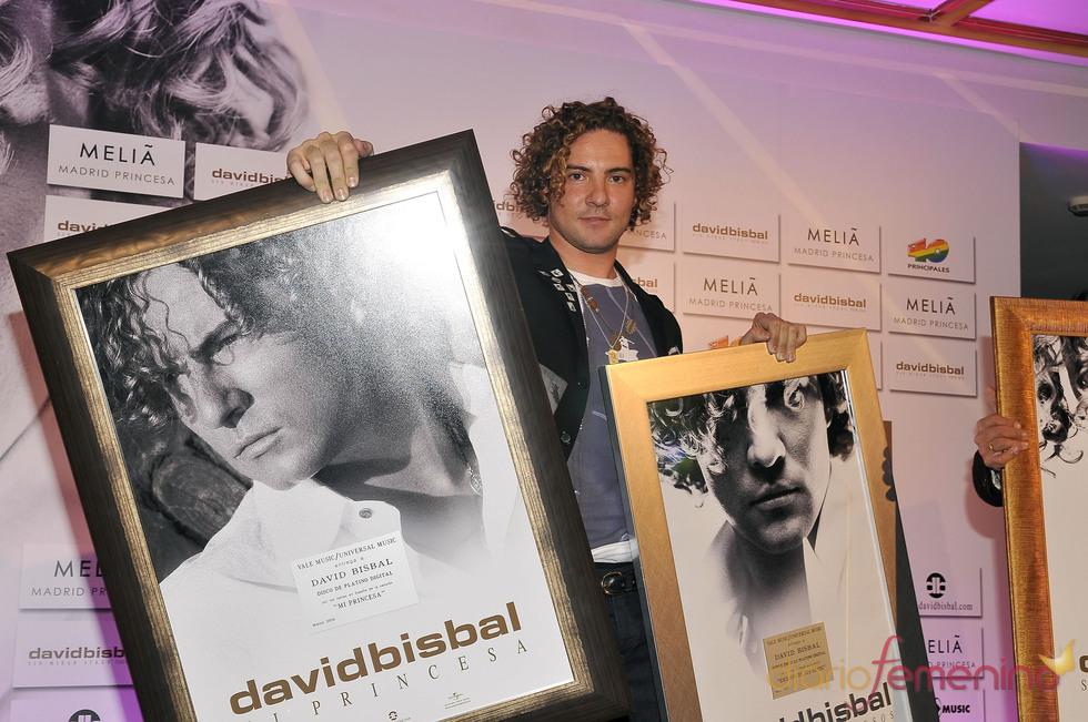 Lluvia de premios para David Bisbal