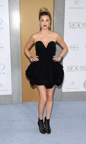 Whitney Port en el estreno de 'Sexo en Nueva York 2'
