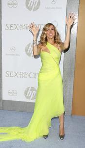 Sarah Jessica Parker en el estreno de 'Sexo en Nueva York 2'