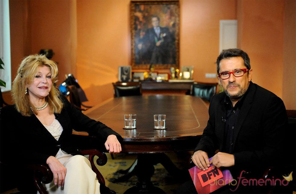 Tita Cervera con Andreu Buenafuente