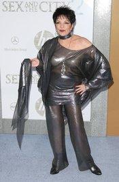 Liza Minnelli en el estreno de 'Sexo en Nueva York 2'