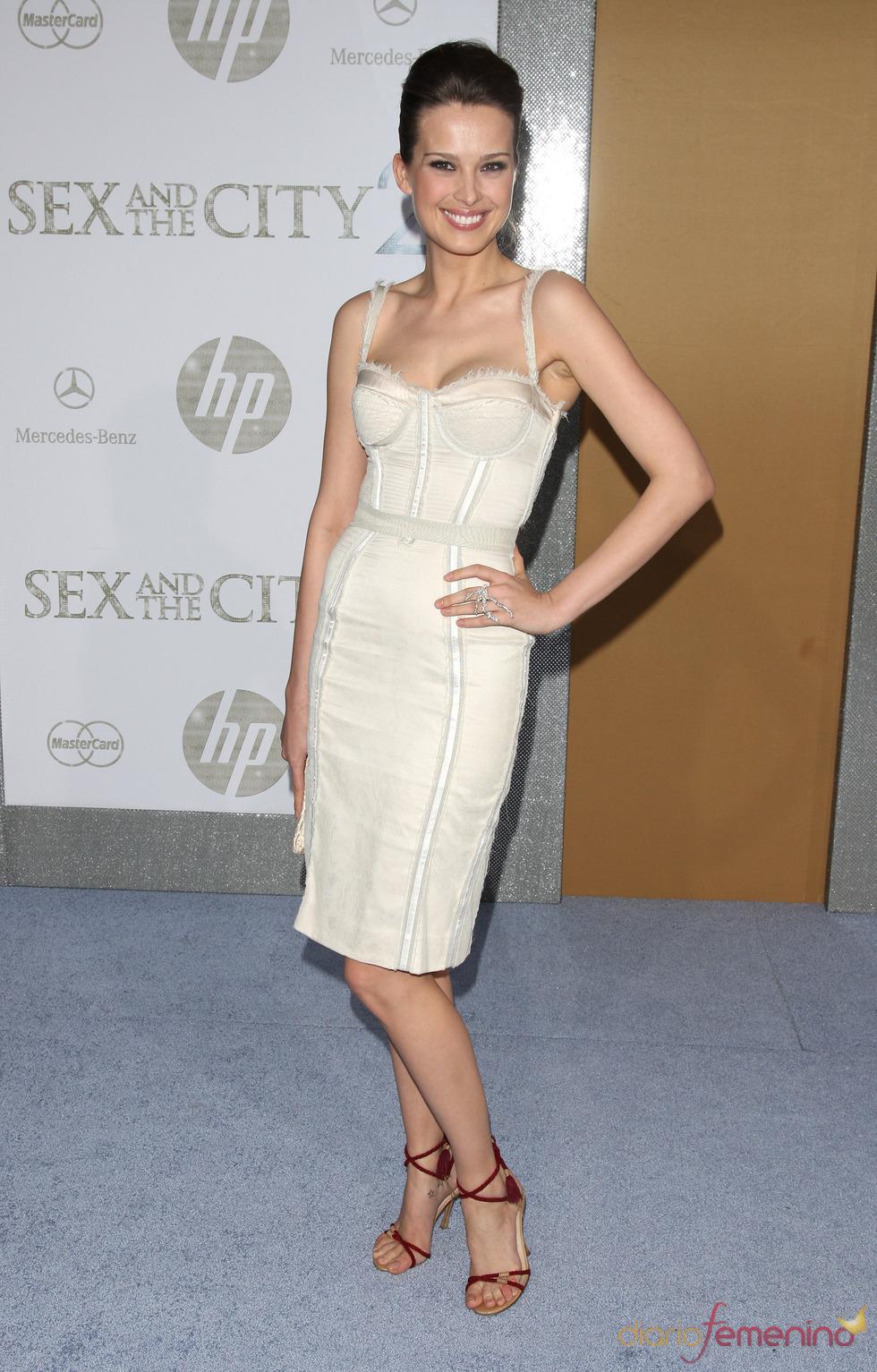 Petra Nemcova en el estreno de 'Sexo en Nueva York 2'