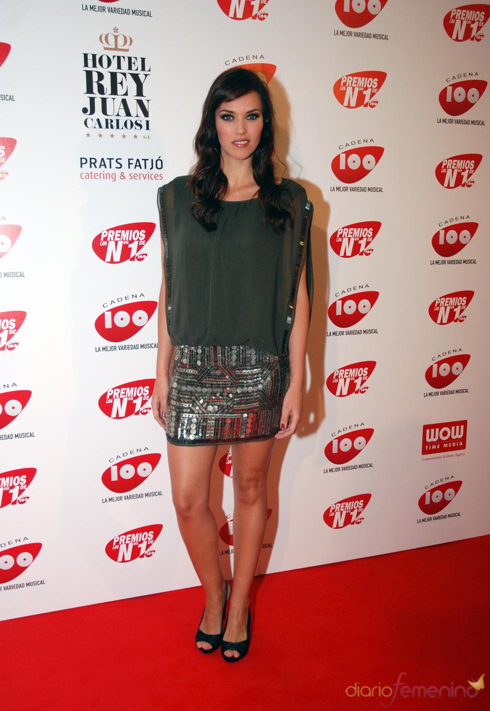 Helen Lindes en los Premios Cadena 100