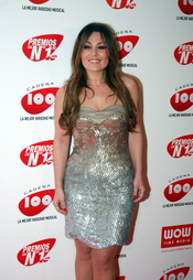 Amaia Montero en los Premios Cadena 100