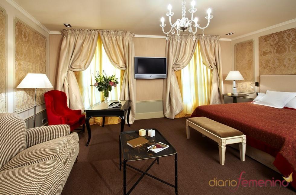 Junior suite del hotel Palace de Barcelona