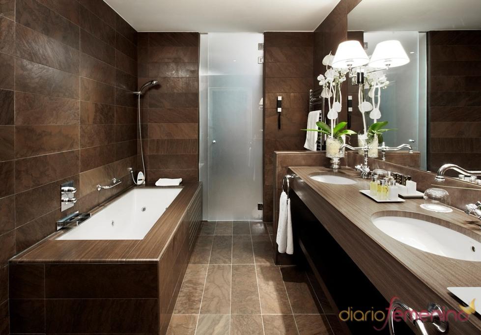 Baño de la Junior suite del hotel Palace de Barcelona