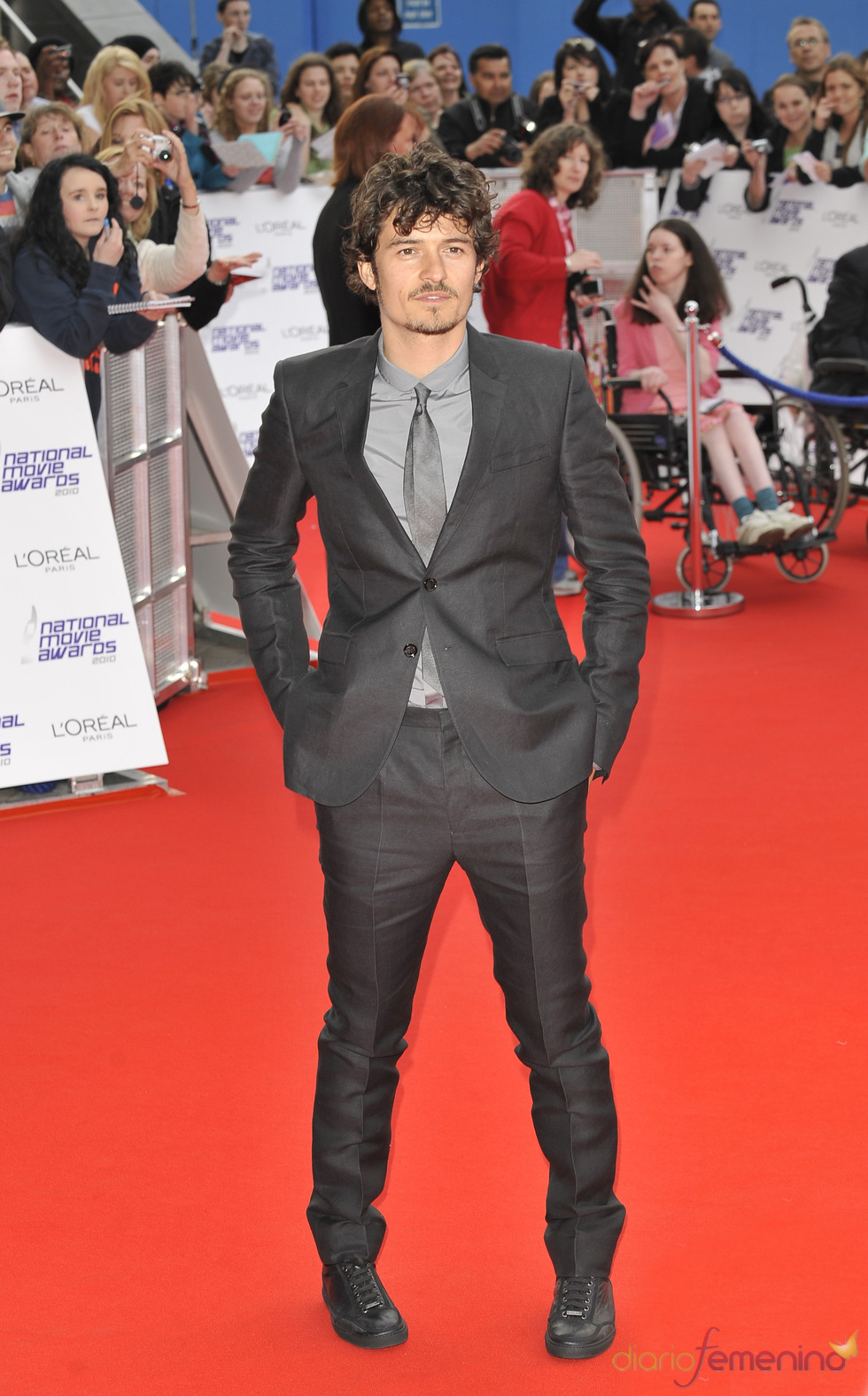 Orlando Bloom en los National Movies Awards 2010