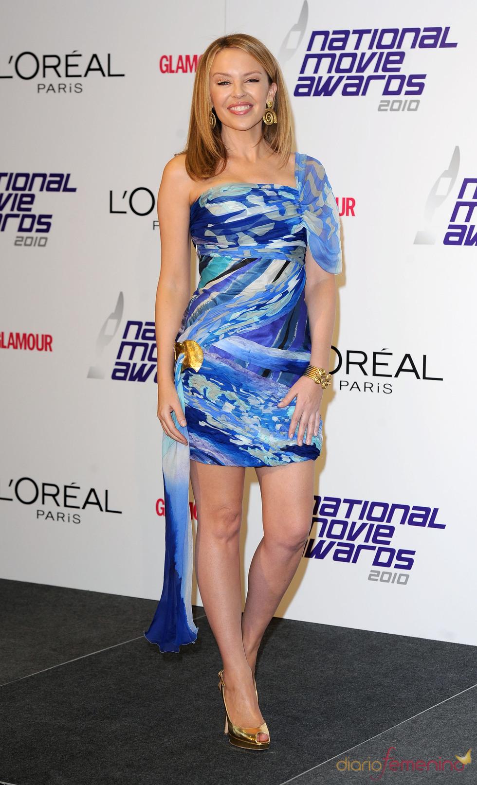 Kylie Minogue en los National Movies Awards 2010