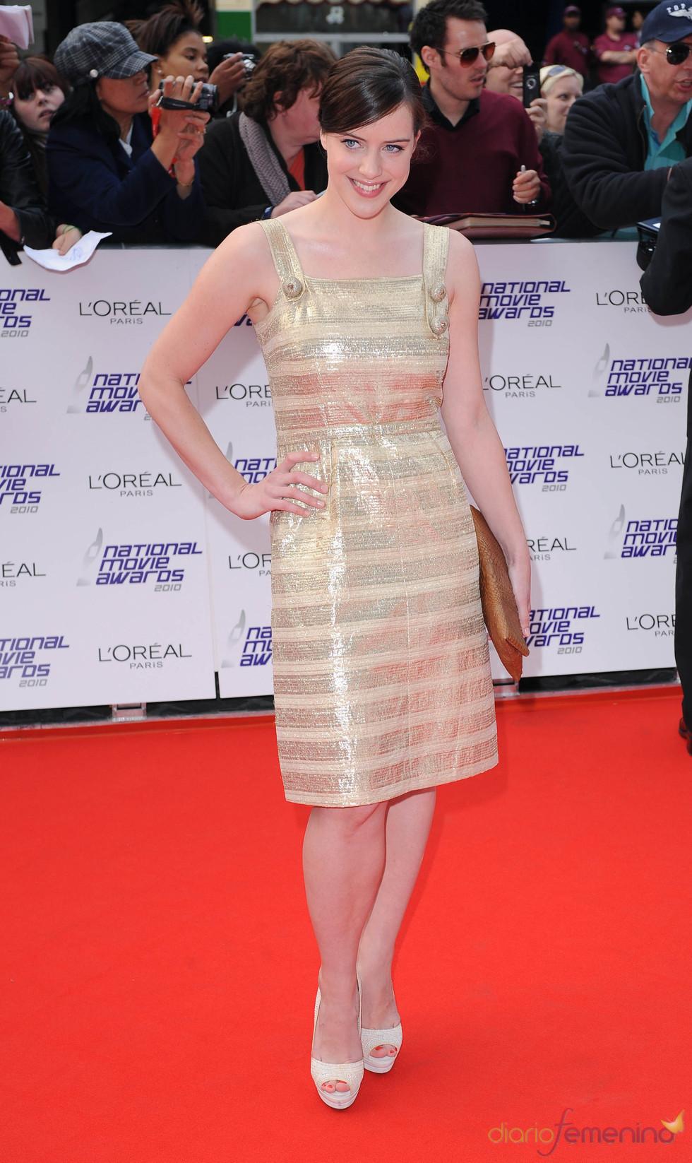 Michelle Ryan en los National Movies Awards
