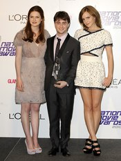 'Harry Potter' pemiado en los National Movies Awards