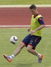 Fernando Torres se prepara para el Mundial 2010