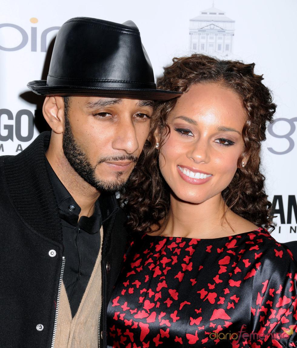 Alicia Keys y Swizz Beatz, esperan un hijo y se casan