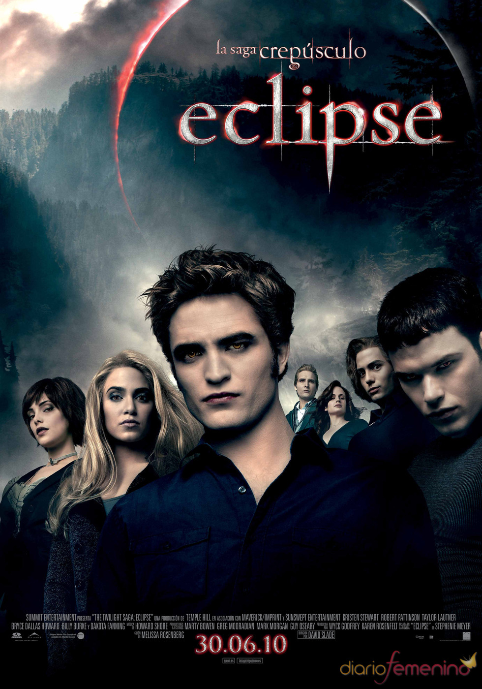 Cartel de 'Eclipse' con Robert Pattinson