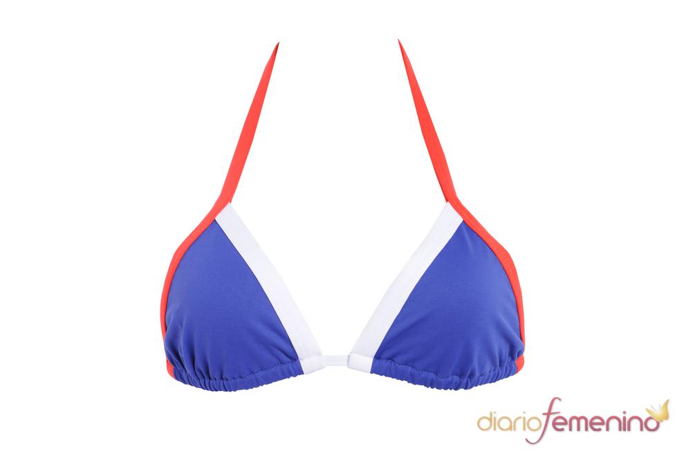 Bikini de la selección francesa de Etam