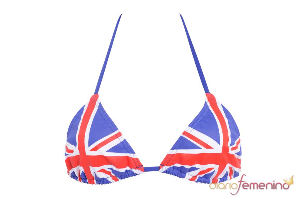 Bikini de la selección inglesa de Etam